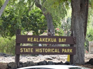 Just one of many places that retained its native name in Hawai'i